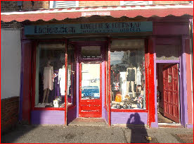 Transvestite retail shop in Kent
