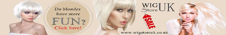 Wigs for transvestites and crossdressers